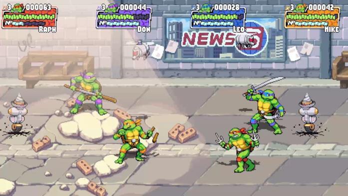 Teenage Mutant Ninja Turtles: Shredder's Revenge annunciato ufficialmente