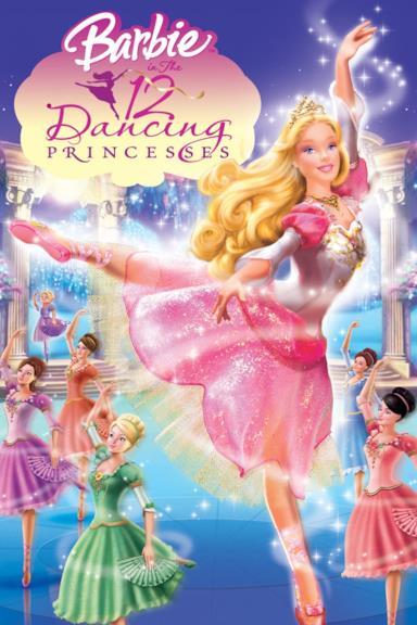Poster Barbie e le 12 principesse danzanti