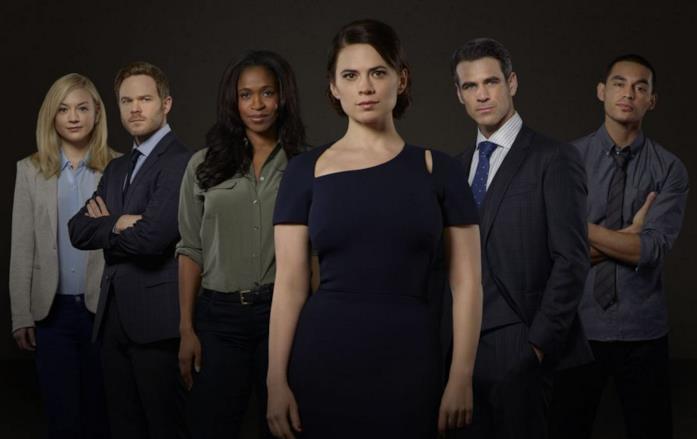 Il cast di Conviction