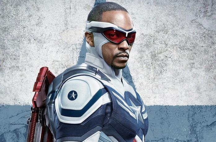 Anthony Mackey è il nuovo Captain America