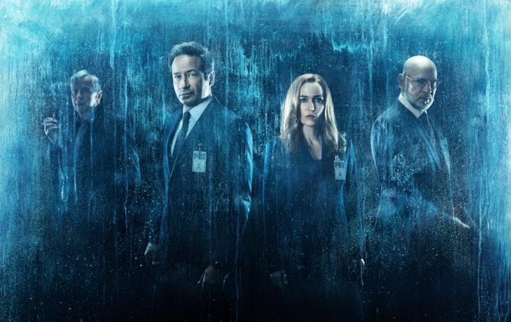 Gli agenti Fox Mulder e Dana Scully di X-Files