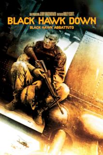 Poster Black Hawk Down - Black Hawk abbattuto