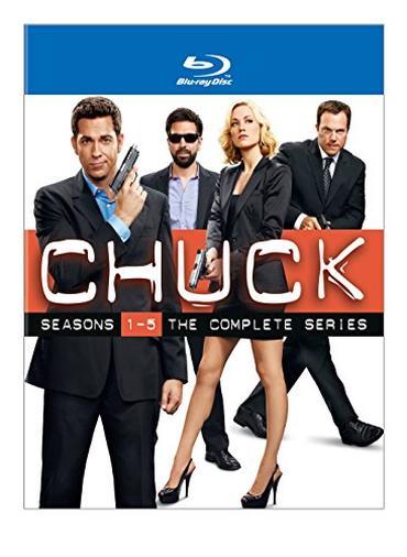 Cofanetto Blu-ray di Chuck - Seasins 1-5
