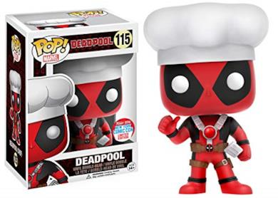 Funko - Figurine Marvel - Chef Deadpool NYCC 2016 Pop 10cm - 0849803076504