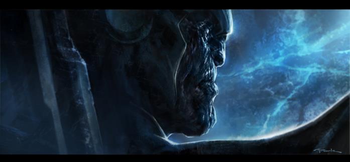 Il volto di Thanos