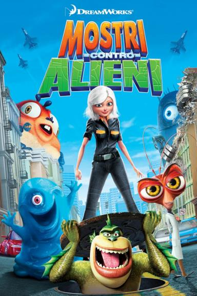 Poster Mostri contro alieni