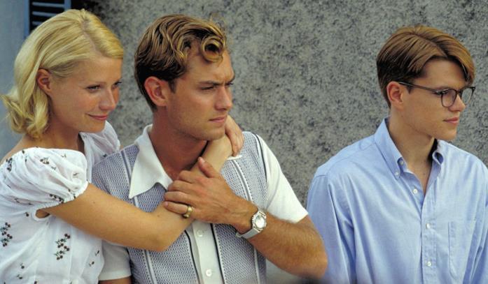 JudeLaw, Gwyneth Paltrow e Matt damon in una scena del film