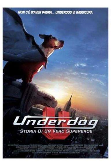 Poster Underdog - Storia di un vero supereroe