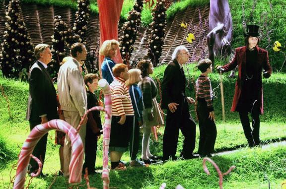 La fabbrica di cioccolato, personaggi e cast del film con Johnny Depp