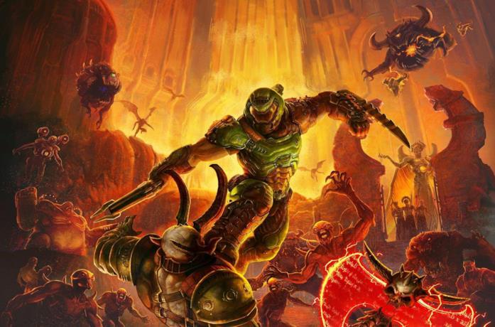 DOOM Eternal uscirà anche su PS5 e Xbox Series X