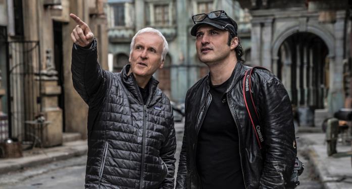 I registi James Cameron e Robert Rodriguez