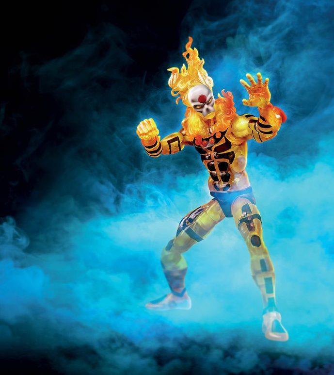 The Age of Apocalypse: Sunfire action figure