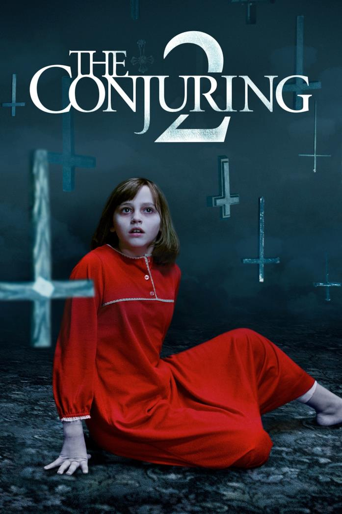 Madison Wolfe nel poster di The Conjuring 2