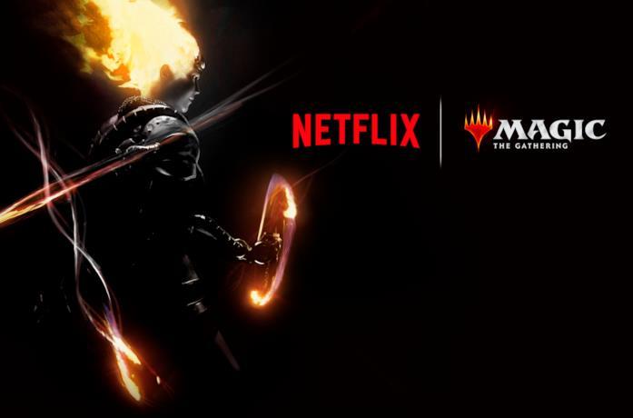 Il poster di Magic: The Gathering di Netflix