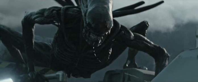 La creatura di Alien: Covenant