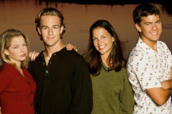 Un'immagine del cast di Dawson's Creek