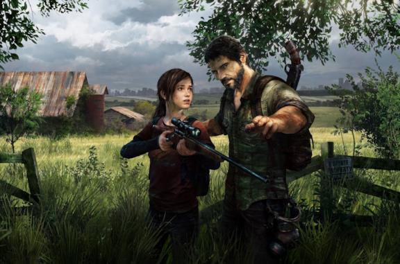 Ellie e Joel in The Last of Us
