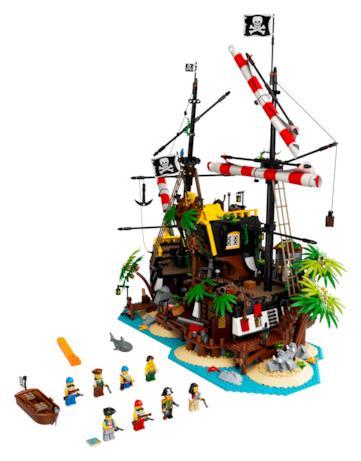Il set LEGO I pirati di Barracuda Bay completo