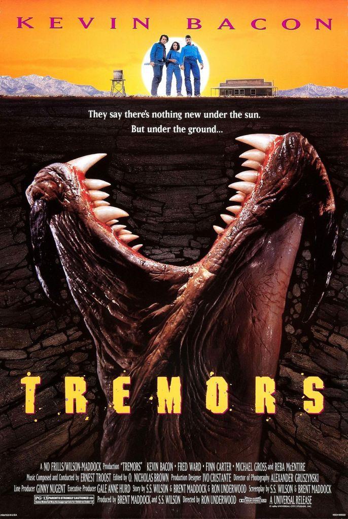 Il poster del film Tremors