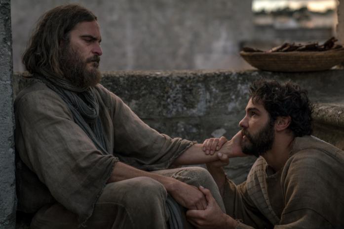 Gesù accarezza Giuda