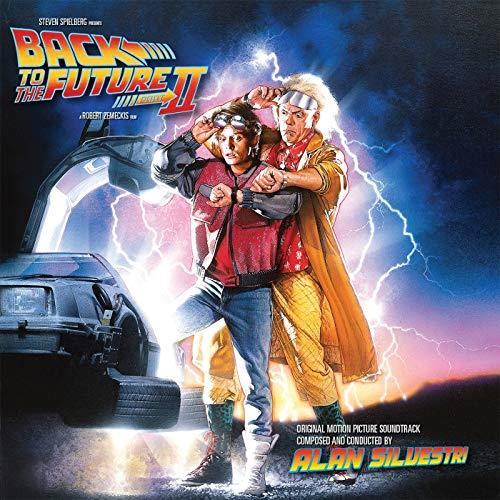 Ritorno al Futuro 2, la copertina della colonna sonora