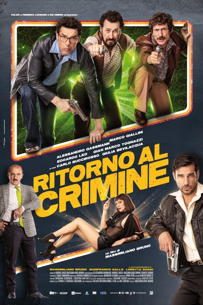 La locandina italiana di Ritorno al crimine