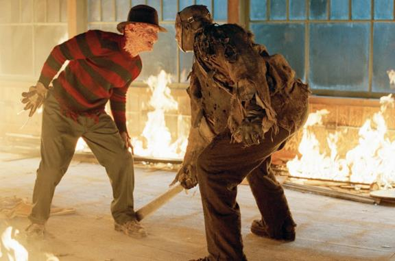I due protagonisti di Freddy vs. Jason