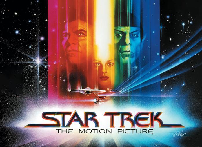 Il poster di Star Trek