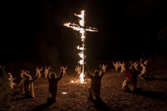 Il KKK in BlacKkKlansman