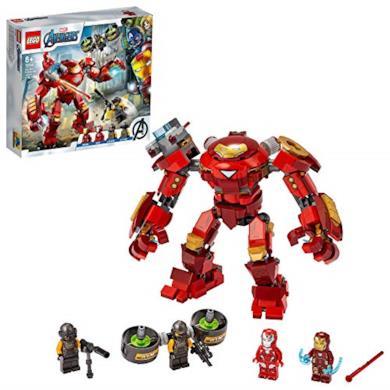 LEGO Super Heroes Iron Man Hulkbuster contro l'Agente A.I.M., Set di Costruzioni Ricco di Dettagli per Bambini +8 Anni e per i Fan Marvel Avengers, 76164