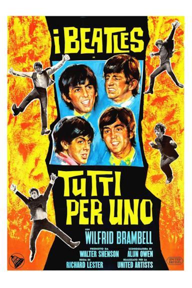 Poster Tutti per uno