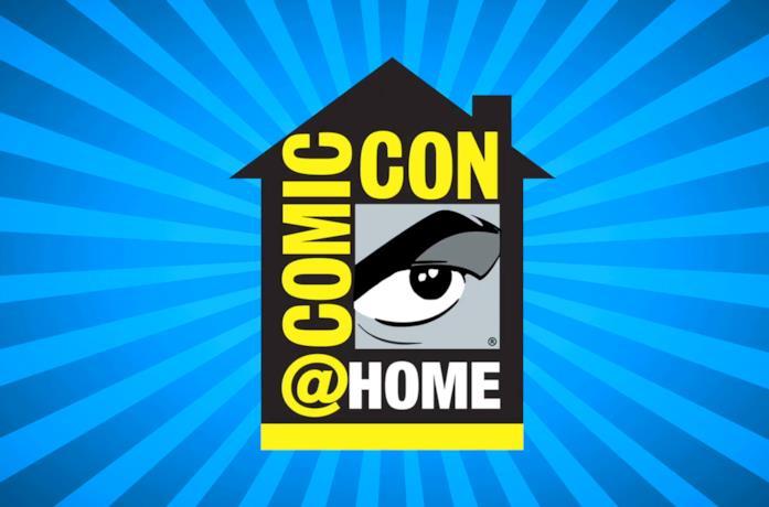 Il logo del San Diego Comic-Con@Home
