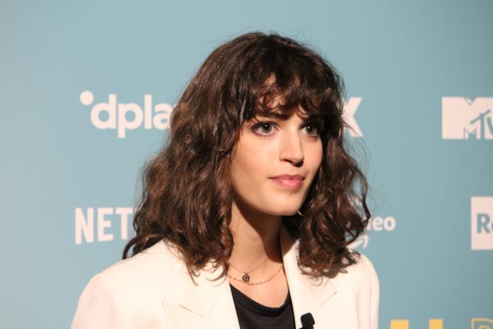 Greta Ferro alla presentazione di Made in Italy