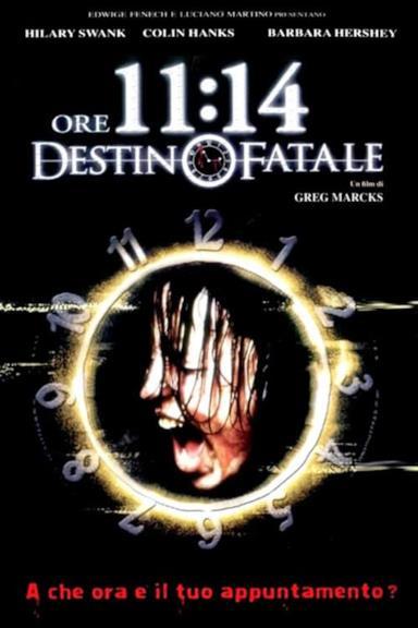 Poster Ore 11.14 – Destino fatale