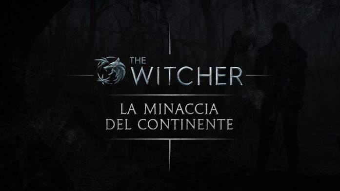 Il logo dell'evento di The Witcher a Milano