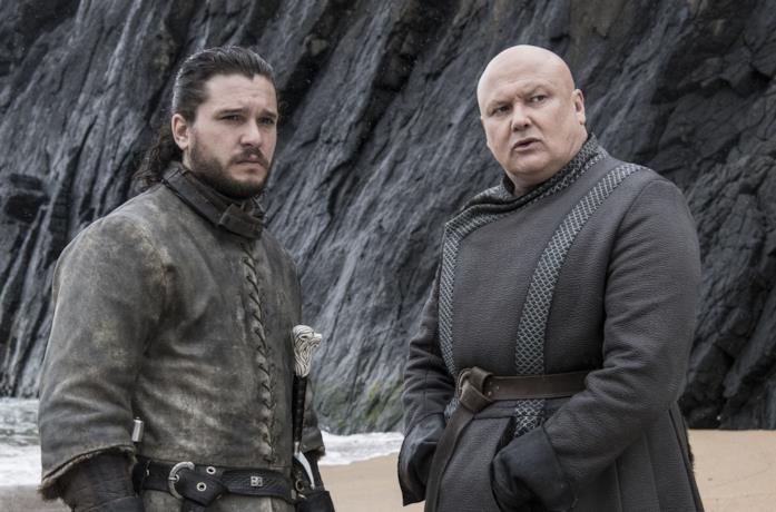 Jon Snow e Lord Varys