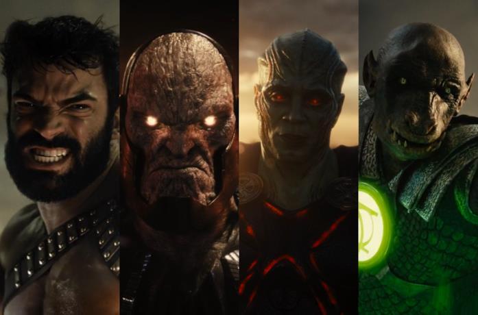 Zeus, Uxas, Martian Manhunter e Yalan Gur