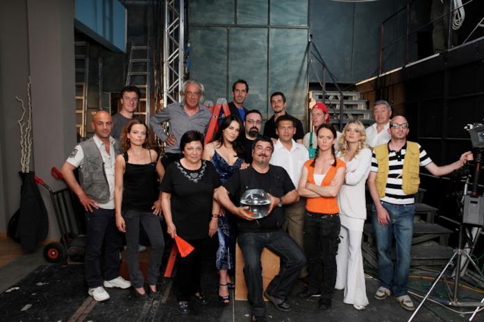 Il cast della serie TV Boris