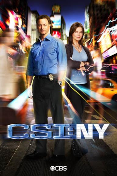 Poster CSI - NY