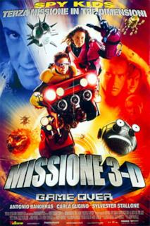 Poster Missione 3D - Game Over