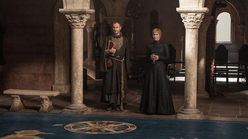 Cersei e l'emissario della Banca di Ferro