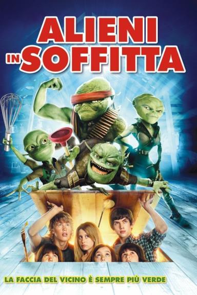 Poster Alieni in soffitta