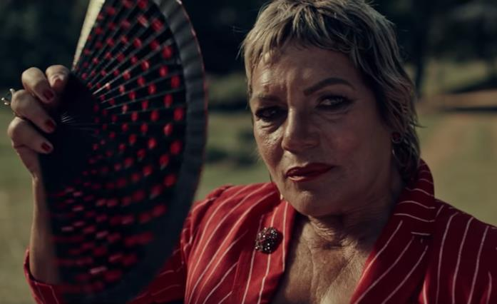 Cristina Donadio in una scena del film A Classic Horror Story