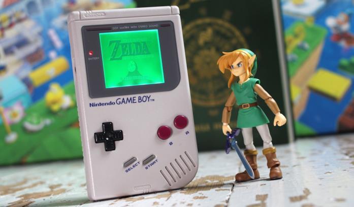Un action figure di The Legend of Zelda: Link's Awakening