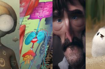 I protagonisti di alcuni corti animati in shortlist per l'Oscar 2017