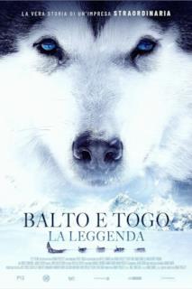 Poster Balto e Togo - La leggenda