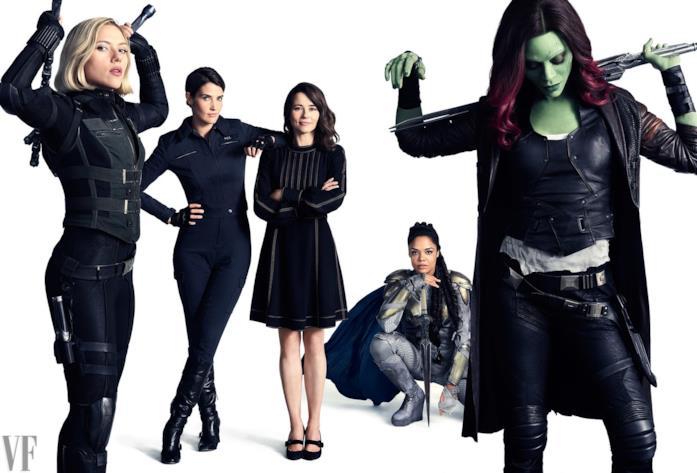 Da Scarlett Johansson a Zoe Saldana, riunione di gruppo