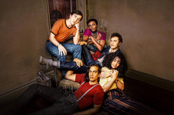 Il cast della serie It's a Sin
