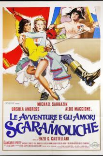 Poster Le avventure e gli amori di Scaramouche