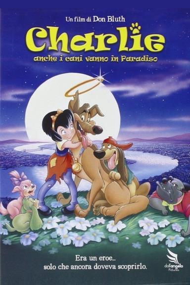 Poster Charlie - Anche i cani vanno in paradiso
